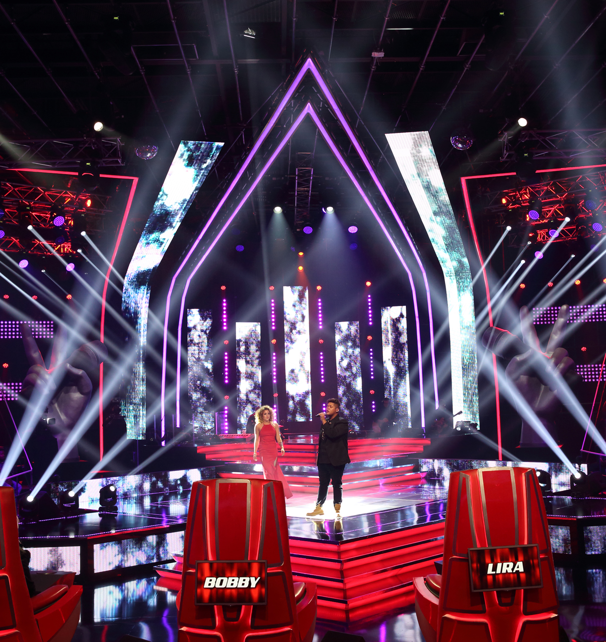 The Voice South Africa Theatre Lighting Custom LED Screen