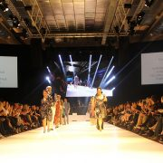 FashFest Canberra Runway Stage Event Lighting LED Screens