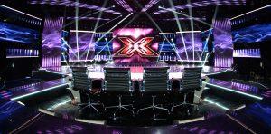 X Factor TV Studio Lighting