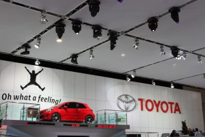 Australian International Motor Show Toyota Event Lighting