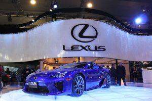 Australian International Motor Show Lexus Event Lighting