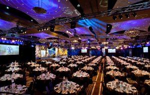Brownlow Medal Melbourne Event Lighting