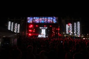 Sterosonic Festival Brisbane LED Screen Panels Stadium Lighting