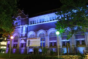 Western Australian Museum Perth Outdoor LED Building Facade lighting