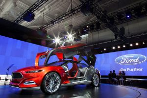 Australian International Motor Show Ford Stage Event Lighting