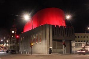 Drum Theatre Dandenong Building Facade Stadium Lighting