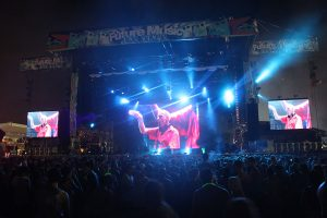 Future Music Festival Event Stage LED Screens and Stadium Lighting
