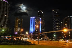Sofitel Broadbeach Outdoor LED Building Facade Lighting