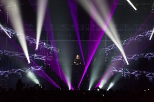 David Guetta in Tasmania Event Stage LED Screens and Stadium Lighting