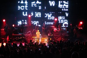 Guy Sebastian Event Stage LED Screens and Stadium Lighting