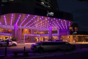 Jupiters Casino Gold Coast Building Entrance Architectural Lighting