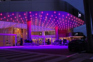 Jupiters Casino Gold Coast Building Entrance Architectural Lighting