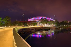 Adelaide Oval Custom LED Stadium Lighting