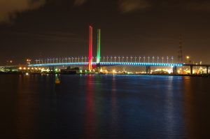 Bolte Bridge Melbourne Outdoor LED Architectural Lighting