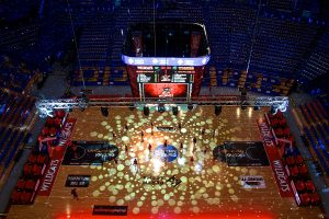 Perth Wild Cats Event Stadium Lighting LED Screens Light Show