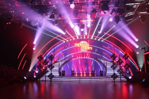 Dancing With The Stars TV Studio Stage LED Screens Theatre Lighting