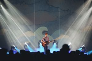 Passenger Concert Stage Lighting Design Spotlights LED