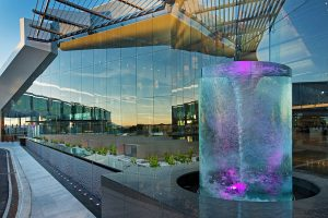 Canberra Airport Water Feature Custom LED Lighting