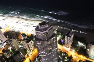 Channel 7 News Gold Coast Custom LED Light Beach Signage