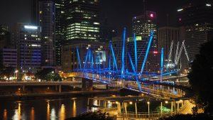 Kurilpa Bridge Brisbane Outdoor LED Architectural Lighting