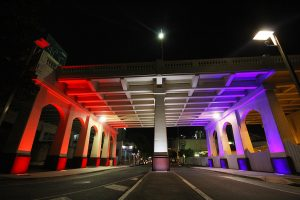 William Jolly Bridge Brisbane Outdoor LED Architectural Lighting