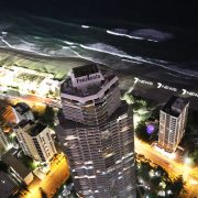 Channel 7 News Gold Coast Custom Beach Lighting LED Signage