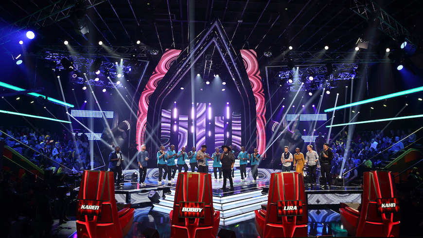 The Voice South Africa Theatre Stage Lighting Custom LED Screens