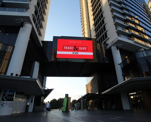 Circle on Cavill Big Screen LED Screen Outdoor Billboard Advertising Sign