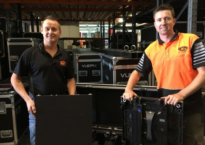Vuepix Clifton Production Cisco Live Flight Cases and Staff