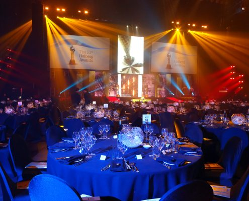 Halberg Awards Event Lighting Custom LED Light Show