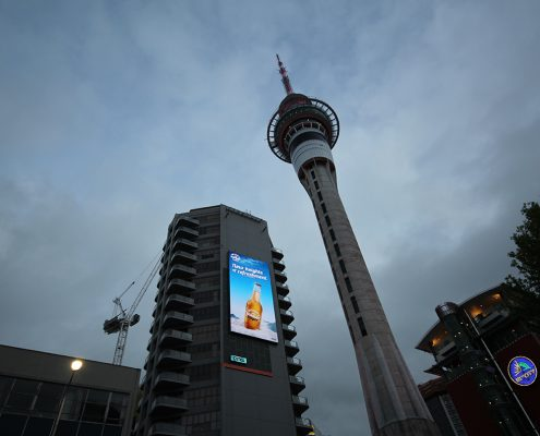 QMS Victoria Street Auckland LED Billboard Digital Advertising Display