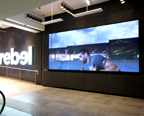 Rebel Sport Sydney Large LED Screen Digital Billboard Advertising
