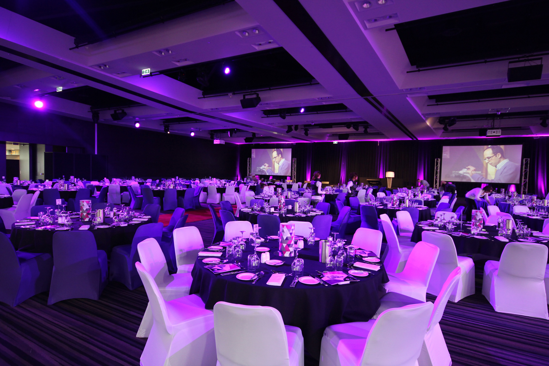 Adelaide Convention Centre Event Lighting LED Screens