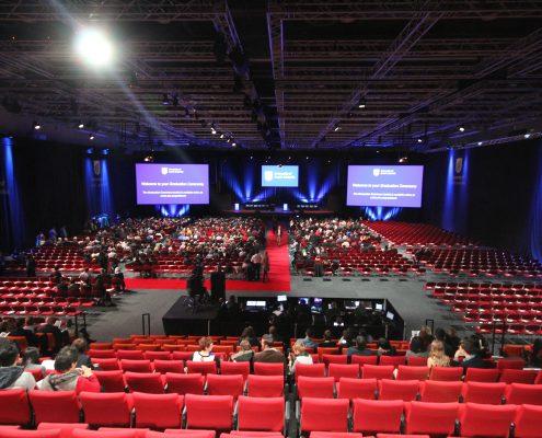 Adelaide Convention Centre Event Lighting LED Screens