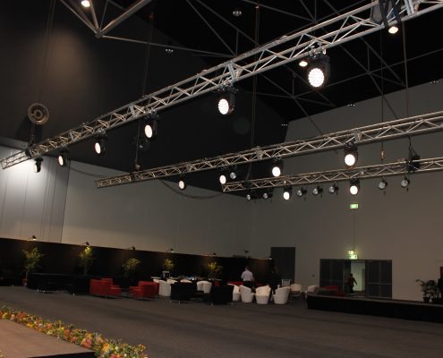 CHOGM Event LED Stage Lighting Design
