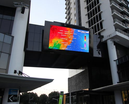 Circle on Cavil Big Screen LED Billboard Digital Advertising