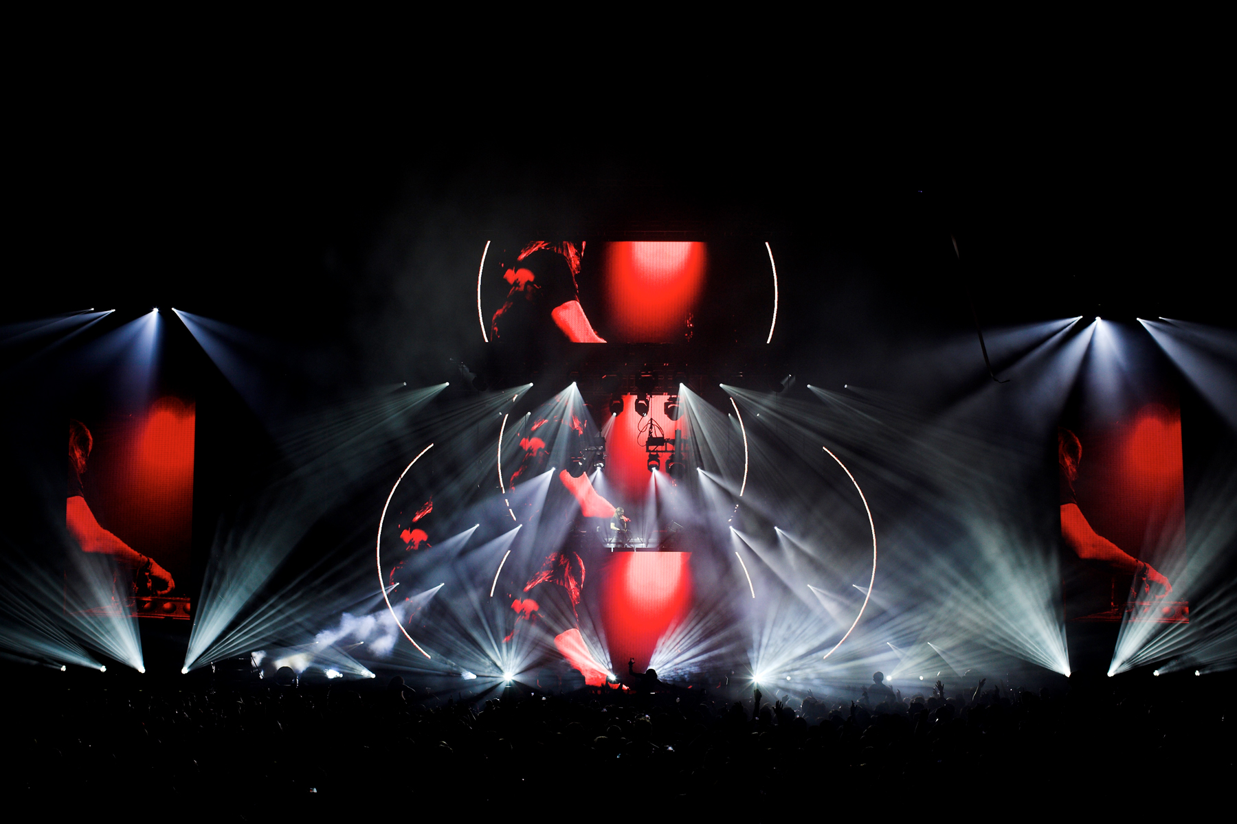 David Guetta Concert LED Stage Lighting Design
