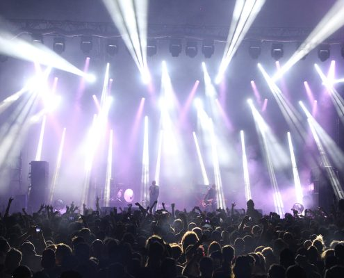 Future Musical Festival Prodigy Concert LED Stage Lighting Design