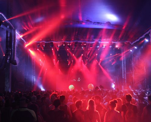 Future Musical Festival Concert LED Stage Lighting Design