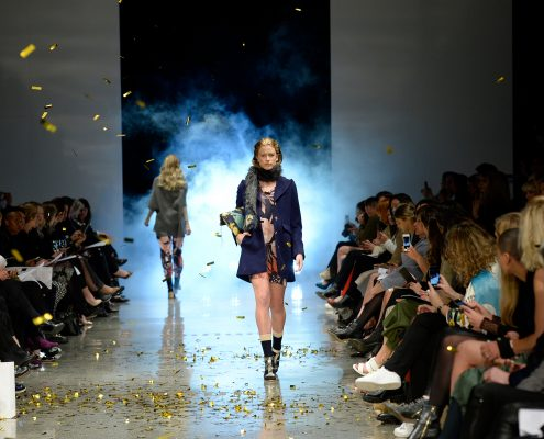New Zealand Fashion Week Event Runway Stage LED Lighting