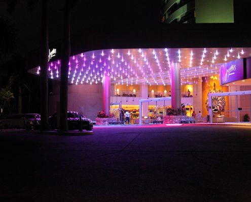 The Star Gold Coast Jupiters Casino Entrance Outdoor LED Lights