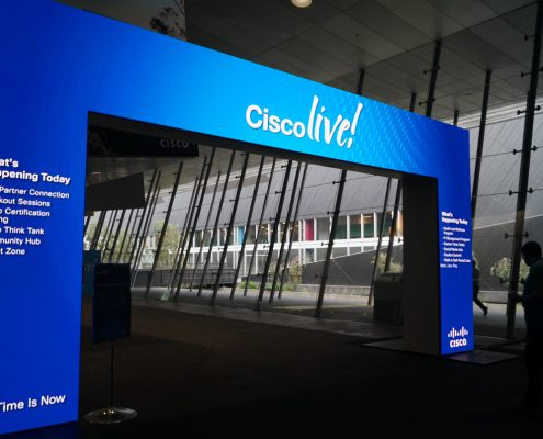 Clifton Productions Cisco Live LED Entrance Screen
