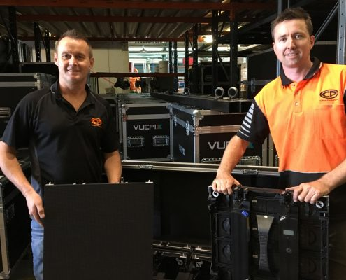 Clifton Productions Cisco Live Vuepix Team Flight Cases