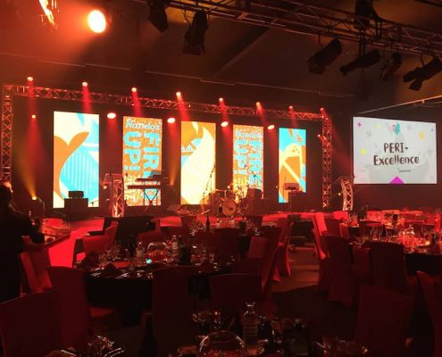 Nandos National Confrence Stage Lighting Design and LED Screen Panels