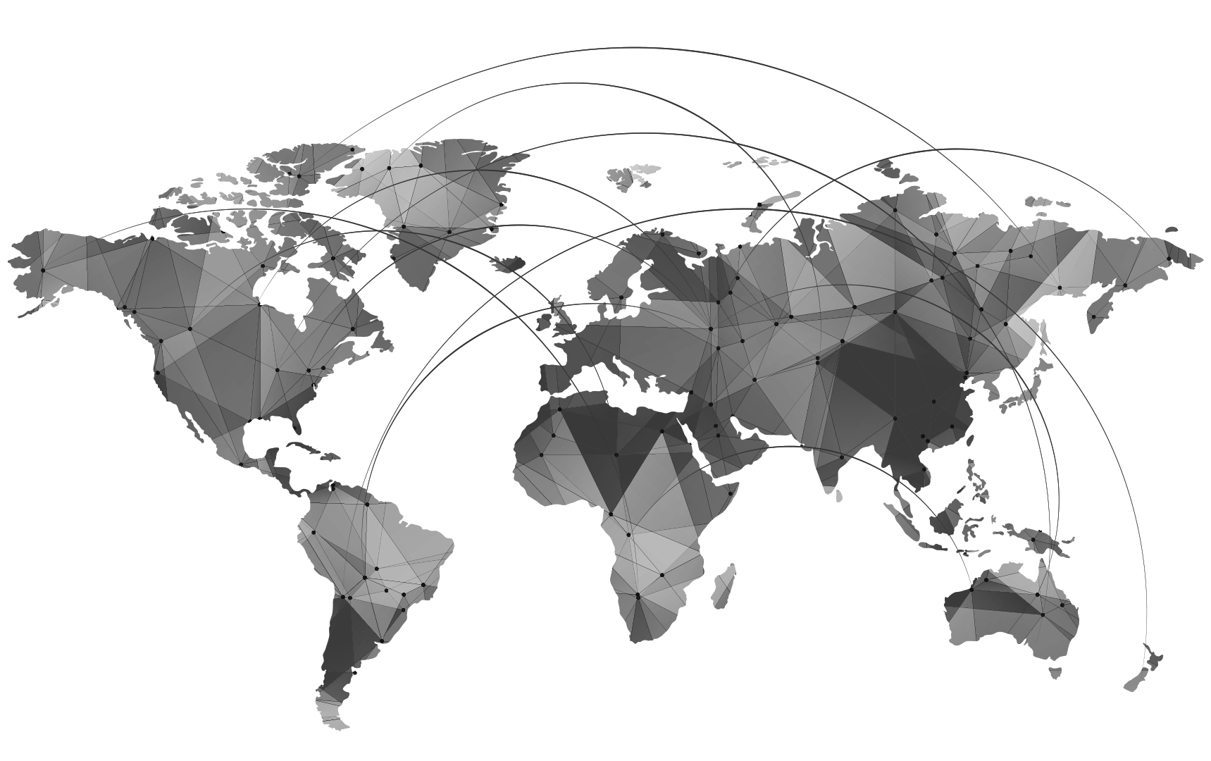 ULA Group World Network Map