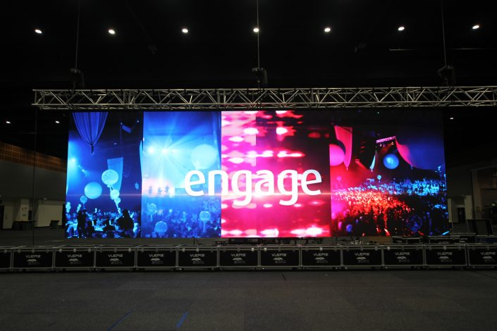 Gold Coast Convention and Exhibiton Centre LED Big Screen