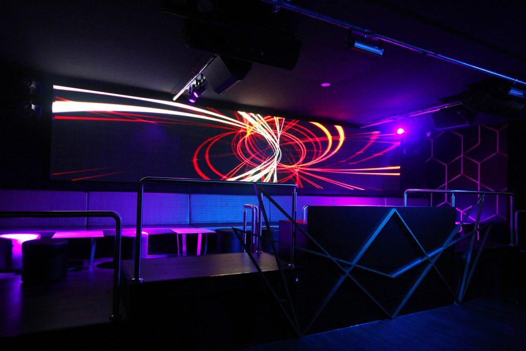 Famous Night Club Super Led Screen Ula Group