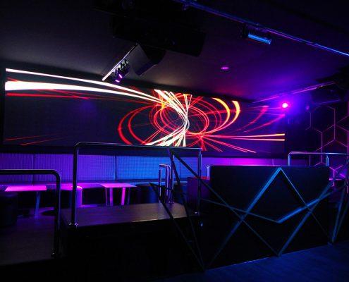 Famous Club Brisbane Nightclub Event Lighting and LED Screens