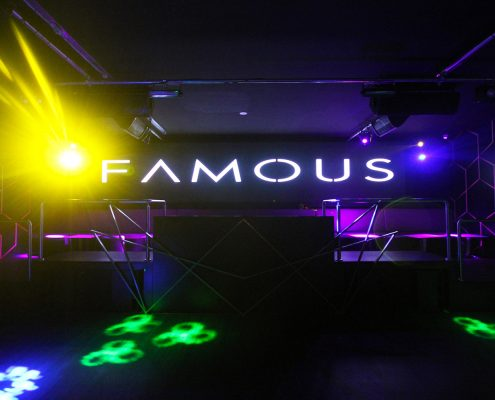 Famous Club Brisbane Nightclub Event Lighting and LED Screens