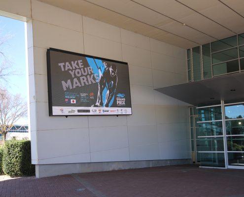 Australian Institute of Sport LED Billboard Digital Advertising